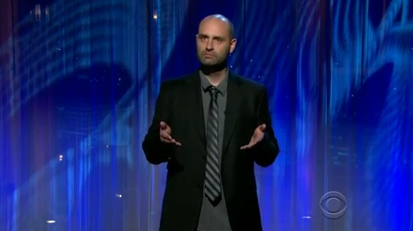 Ted Alexandro realizes his adulthood on Late Late Show