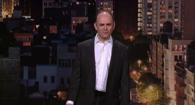 """Todd Barry on Letterman: """"Super Crazy"""""""