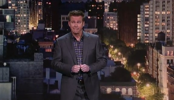 Brian Regan's 25th appearance on Letterman