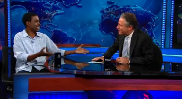 chrisrock-jonstewart-thedailyshow-2012