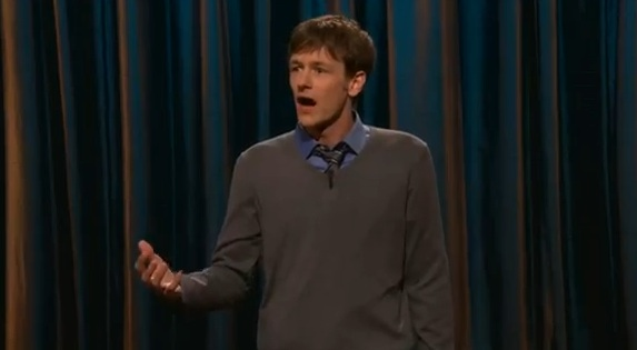 Dominic Dierkes debuts on Conan