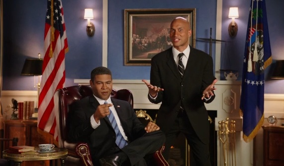 Tropical Storm Luther, President Obama's angry translator, pounds RNC, DNC