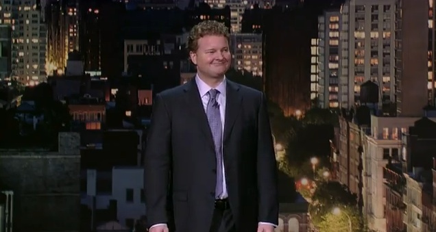 Michael Somerville's debut on Late Show with David Letterman