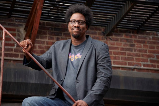 "Everything you need to know about W. Kamau Bell, in his own words; those of his ""Totally Biased"" writers"