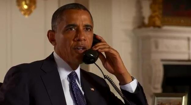 President Obama's call to Harold & Kumar