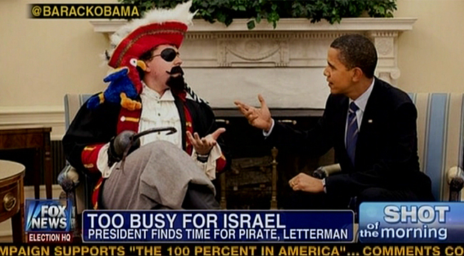 "SNL's latest ""Fox & Friends"" spoof vs. ""Fox & Friends"" latest goof, Obama meets Pirate edition"