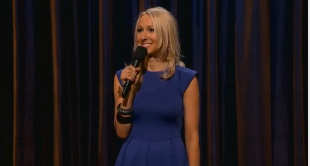 Nikki Glaser on Conan