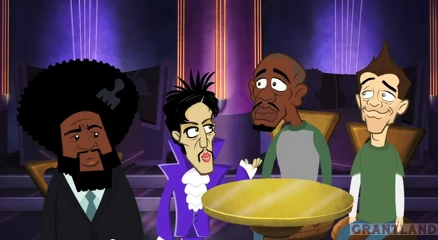 Animated Re-enactment: The night Neal Brennan, Dave Chappelle and Questlove partied with Prince