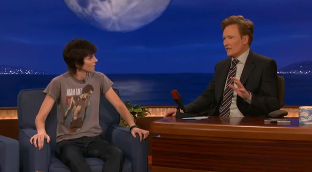 """Tig Notaro's very special interview with Conan; """"Live"""" Largo CD available online"""