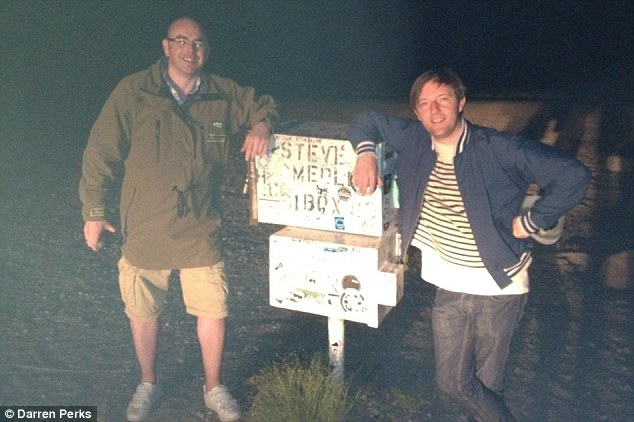 "Irish comedian Andrew Maxwell detained at gunpoint inside Area 51 for BBC Three's ""Conspiracy Road Trip"""