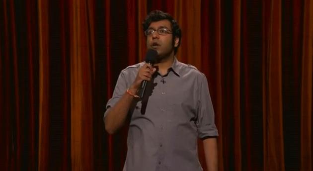 Hari Kondabolu on Conan: White chocolate and feminist jokes