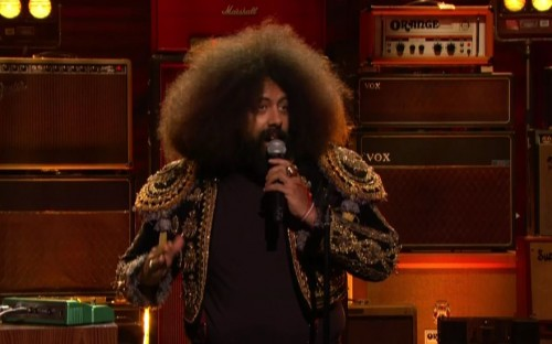 Reggie Watts gets multilingual in this multifaceted Conan set