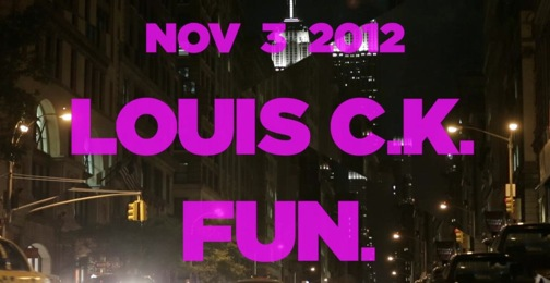 SNL claims you demanded to see Louis CK, Fun; seeks out more crowd-sourced hosts, musical guests