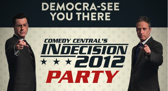 Election Night 2012: Reporting LIVE from inside Comedy Central's Indecision 2012