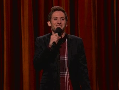Samuel Comroe's late-night TV debut on Conan