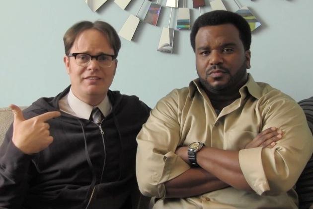 """Rainn Wilson, Matthew Perry both parody Angus Jones; call their comedies """"filth"""""""