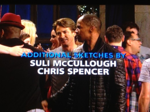 SNL-credits-JamieFoxx-ChrisSpencer-SuliMcCullough