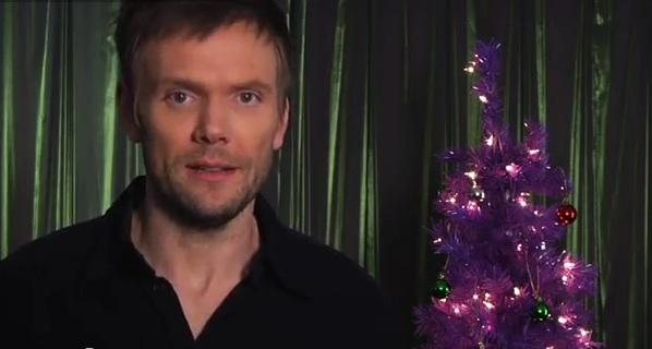 "A Christmas 2012 clip from NBC's ""Community,"" which returns in 2013"