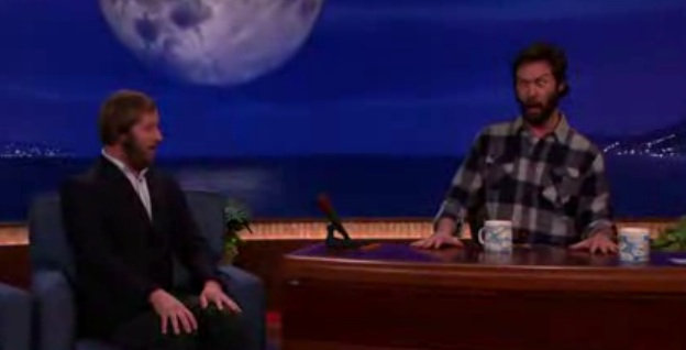 "Jon Dore, aided by Rory Scovel and Katie Crown, hijack a segment on ""Conan"""
