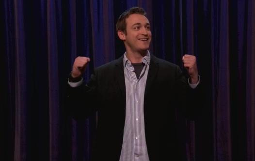 Dan Soder's late-night TV debut on Conan