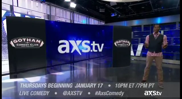 "AXS to debut new ""Gotham Comedy Live"" weekly TV stand-up showcase"