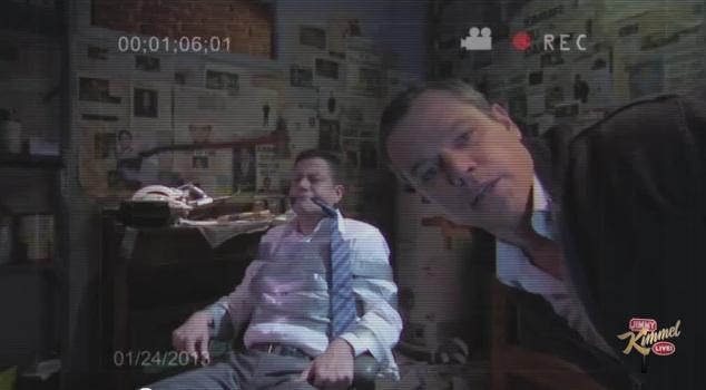 """Matt Damon takes over """"Jimmy Kimmel Live"""" for all A-list """"Jimmy Kimmel Sucks"""""""