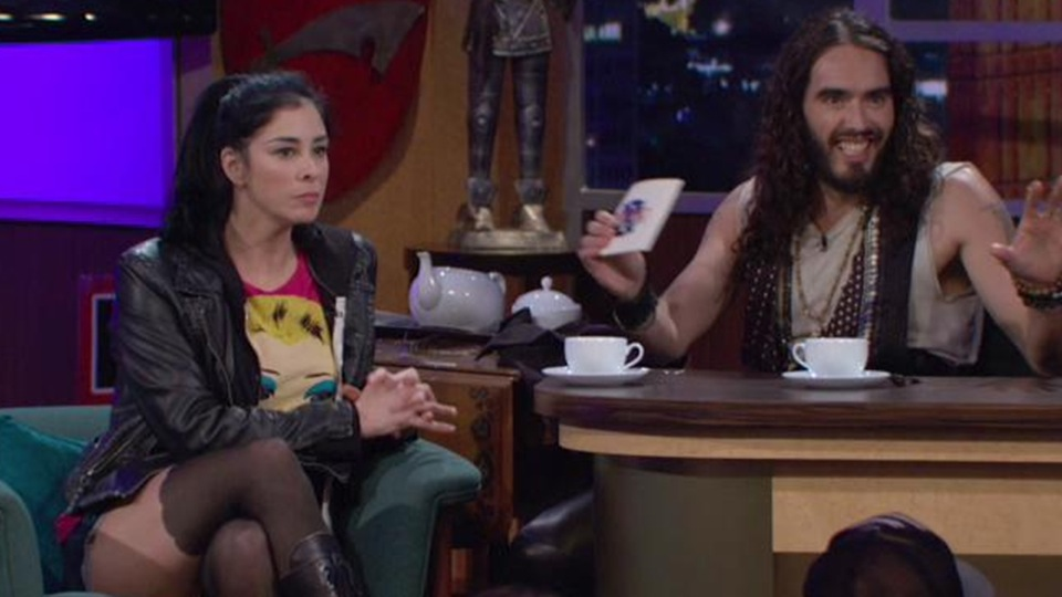What's your favorite format for a Russell Brand talk show?