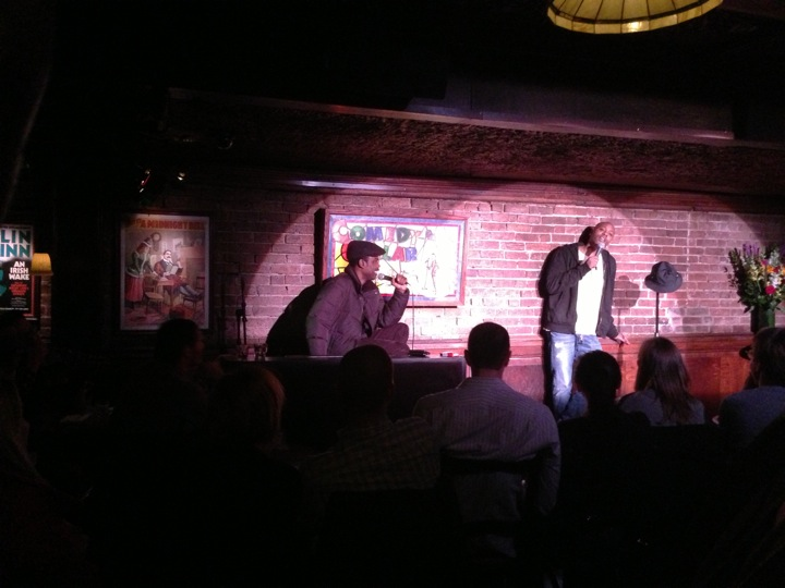 Dreaming up a real comedy show with Chris Rock AND Dave Chappelle