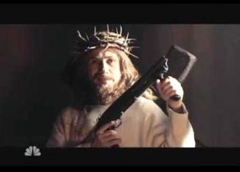 "The director's cut of the SNL movie trailer for ""Djesus Uncrossed"""