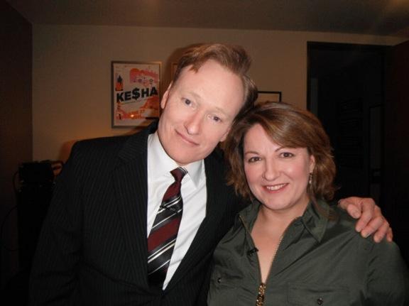 Jackie Kashian's late-night TV debut on Conan