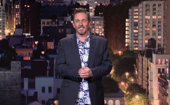 On Letterman, Jake Johannsen has rules about who his real Facebook friends are
