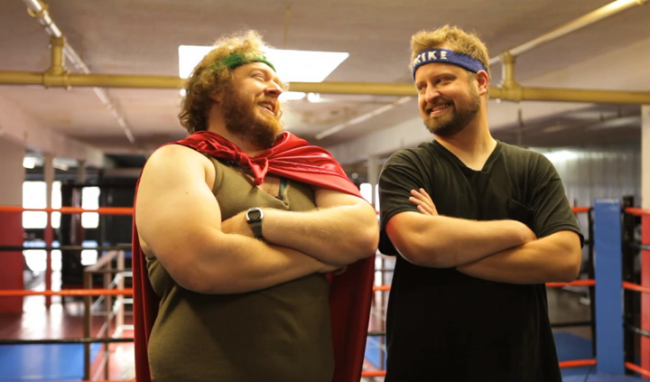 "Webseries Watch: ""Mike & Andrew Try to Lose Some Weight"""