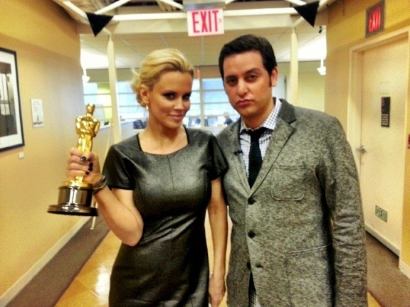 And the Oscar goes to…America. Ben Gleib and Angie Greenup take an Oscar Road Trip