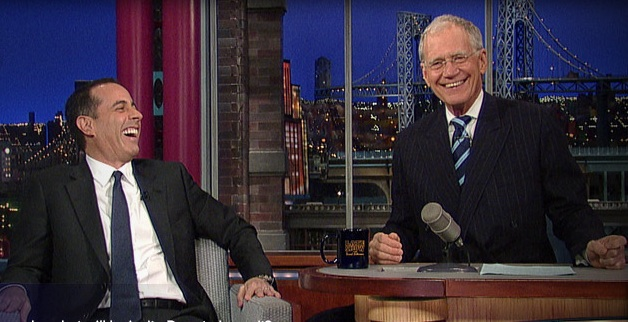 "Would Jerry Seinfeld invite David Letterman to ""Comedians In Cars Getting Coffee""?"