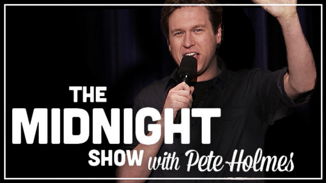 TBS orders four-week trial for Pete Holmes in late-late night TV slot following Conan