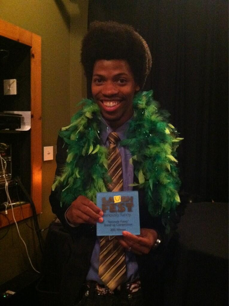 Mike E. Winfield wins 2013 Gilda's LaughFest competition