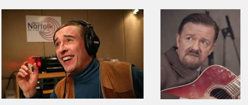 """UK classic comedy character revivals: New """"David Brent"""" from Ricky Gervias, """"Alan Partridge"""" from Steve Coogan"""