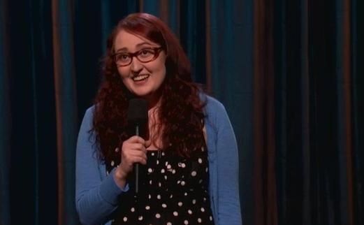 Emily Heller's late-night TV debut on Conan