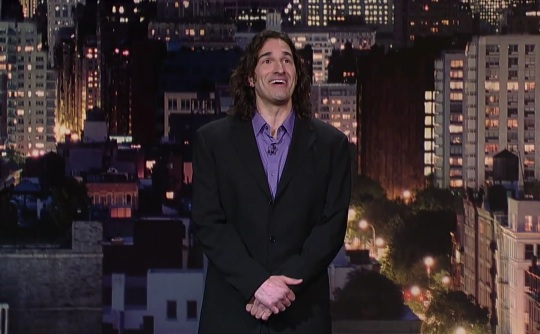 """Gary Gulman on Late Show with David Letterman; buy his CD """"No Can Defend"""""""