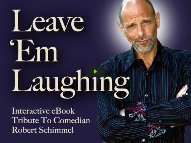 Jeff Schimmel relaunches Kickstarter tribute to Robert Schimmel, this time as an eBook