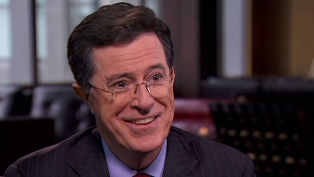 Stephen Colbert breaks character to support his sister's Congressional campaign