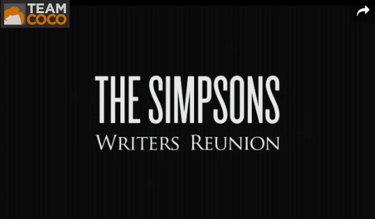 """The Simpsons"" writers and Conan O'Brien reminisce in 2013"