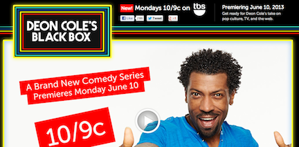 Peek inside Deon Cole's Black Box, coming to TBS in June 2013