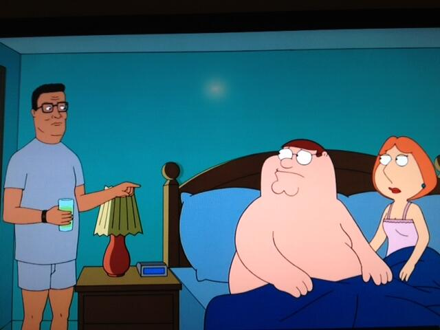 """Mike Judge brings Hank and """"King of the Hill"""" for a """"Family Guy"""" crossover"""
