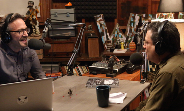 "Marc Maron on putting his life on camera (IFC's Maron) and in memoir (""Attempting Normal"")"