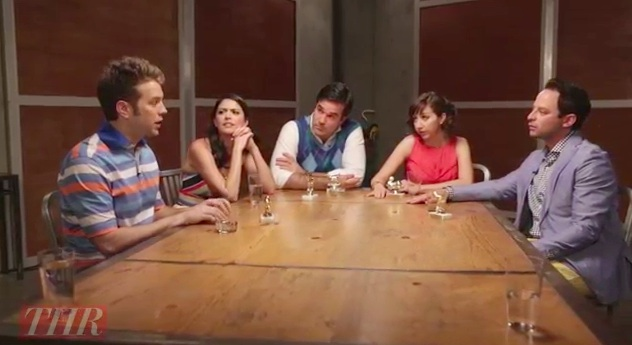 Anthony Jeselnik won't apologize for a joke at the 2013 THR Comedy Roundtable