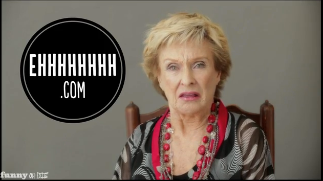 Cloris Leachman, Ed Asner and Rip Taylor introduce EHHHHHHHH.com, for comedy fans of a certain age