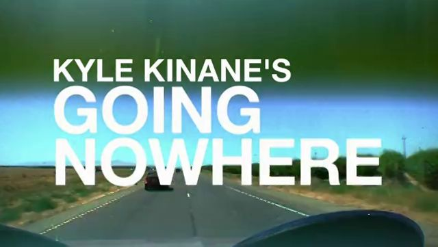 Kyle Kinane's Going Nowhere: The Comedy Central TV pilot presentation