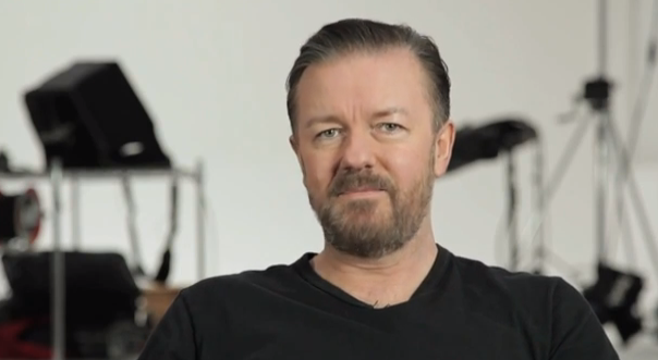 Ricky Gervais swears he reveals his favorite profanities to GQ