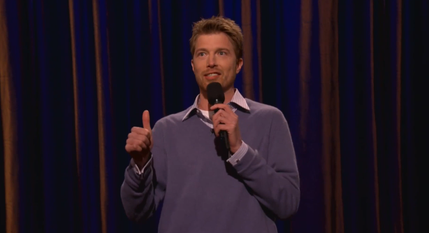 On Conan, Shane Mauss welcomes the Mexicans and gay men